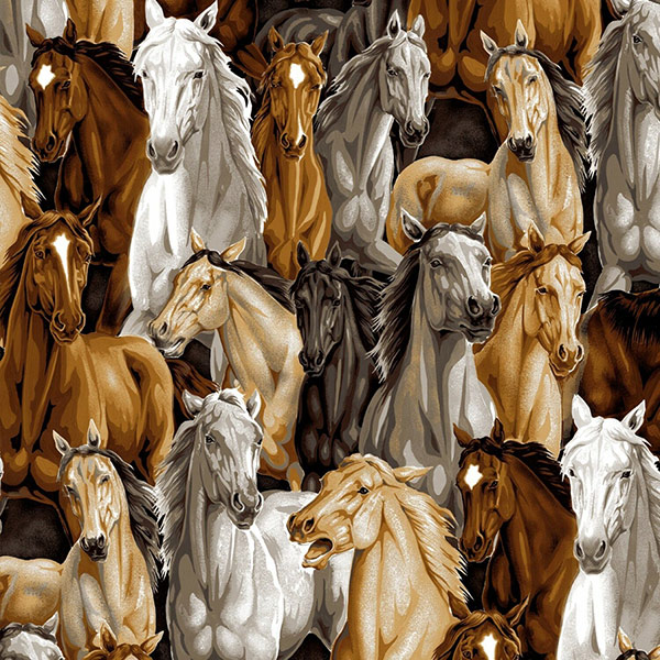 horse-fabric