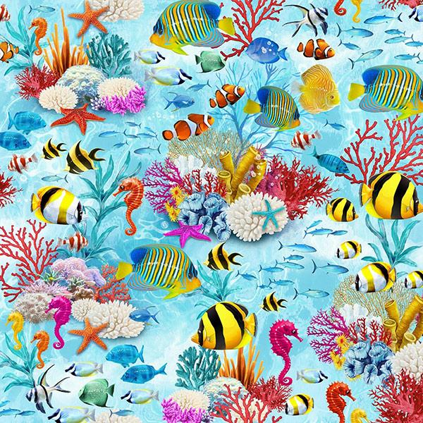 ocean-theme-fabric